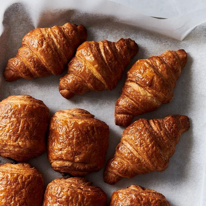 Flaky Homemade Croissants