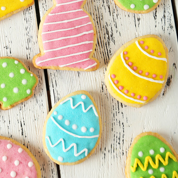 Family Fun: Colorful Spring Cookies