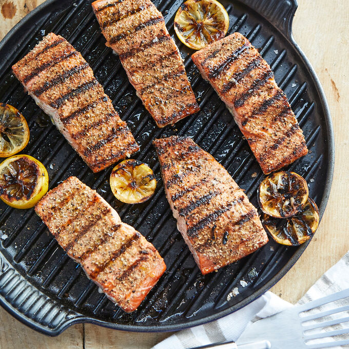 Online Summer Salmon Meal Eastern Time