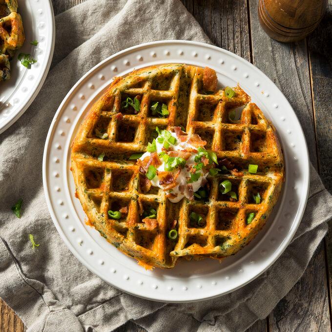 Online Brunch: Dutch Baby + Waffles (ET)