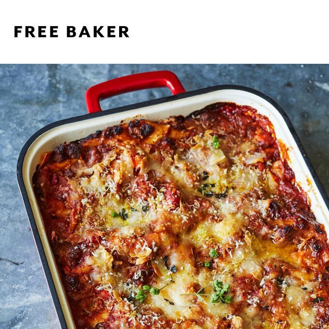 Ultimate Lasagna from Scratch + Free Baker