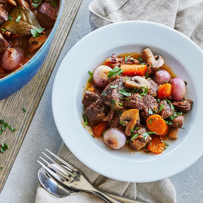 Online FOCUS SERIES: Braising & Stewing: Beef Bourguignon (ET)