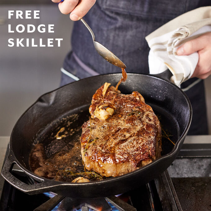 Tuscan Cast Iron Cooking + Free Lodge Skillet