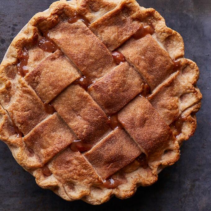 Online Focus Series: Salted Caramel Lattice-Top Apple Pie (ET)