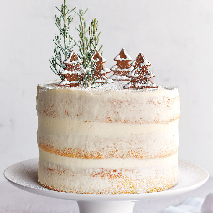 Build & Take Winter Wonderland 3 Layer Cake