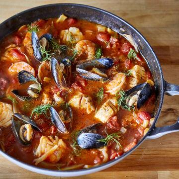 Online Italian Seafood Night (ET)