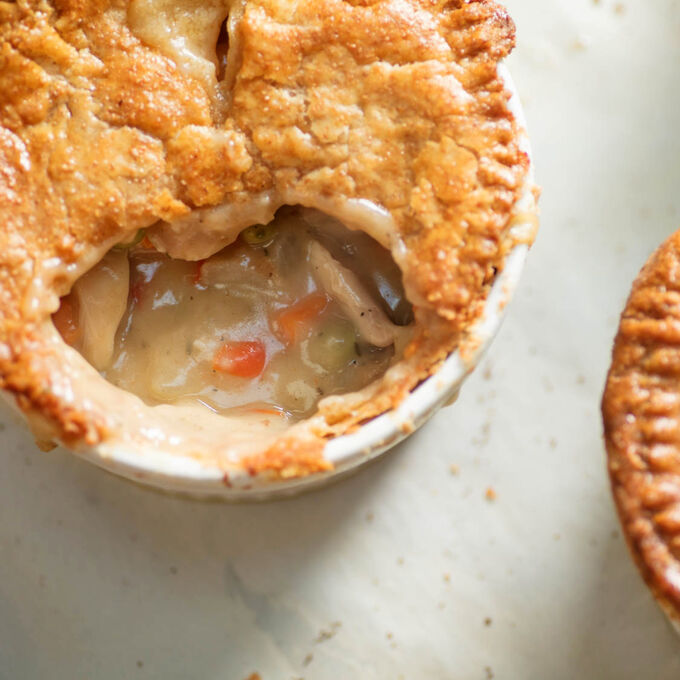 Kids Cook: Pot Pie Dinner