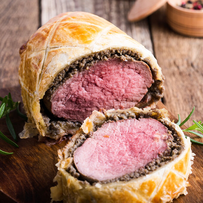 Holiday Beef Wellington Supper