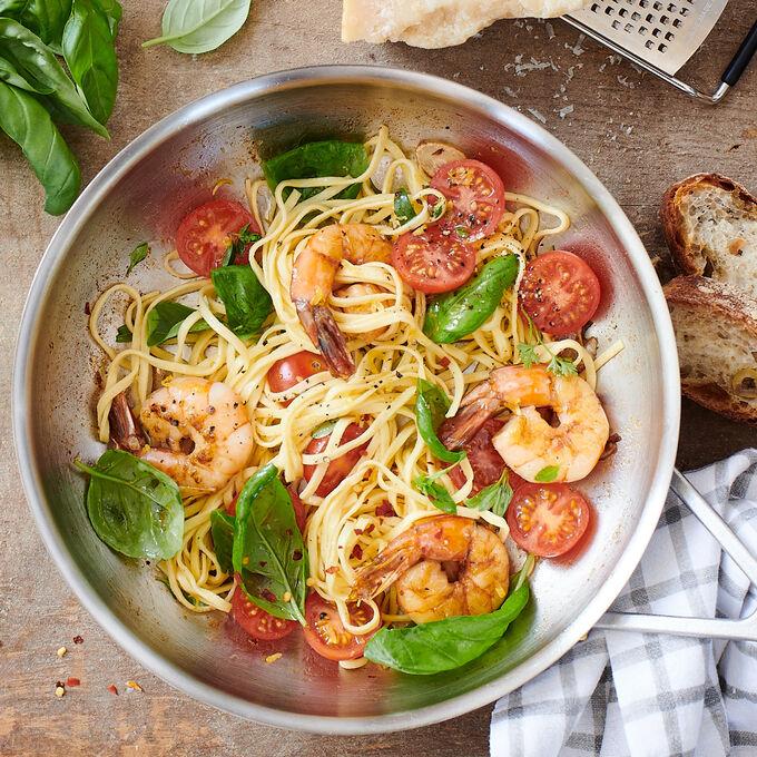 Homemade Linguine & Tortellini
