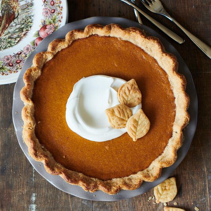 Online Prep Now, Bake Later: Traditional Pumpkin Pie (ET)