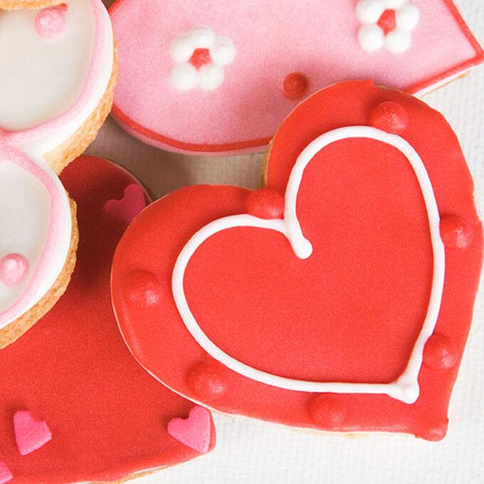 Valentine Cookie Decorating