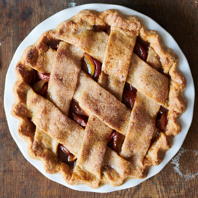 Online Prep Now, Bake Later: Salted Caramel Lattice Top Apple Pie (ET)
