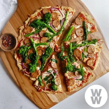 Pizza Crust Reimagined with WW: Weight Watchers® Reimagined