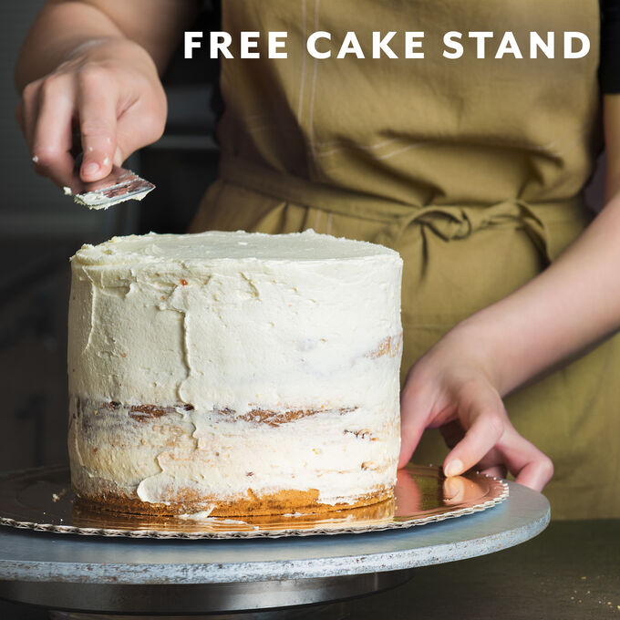 Build & Take Cake + Free Le Creuset Cake Stand