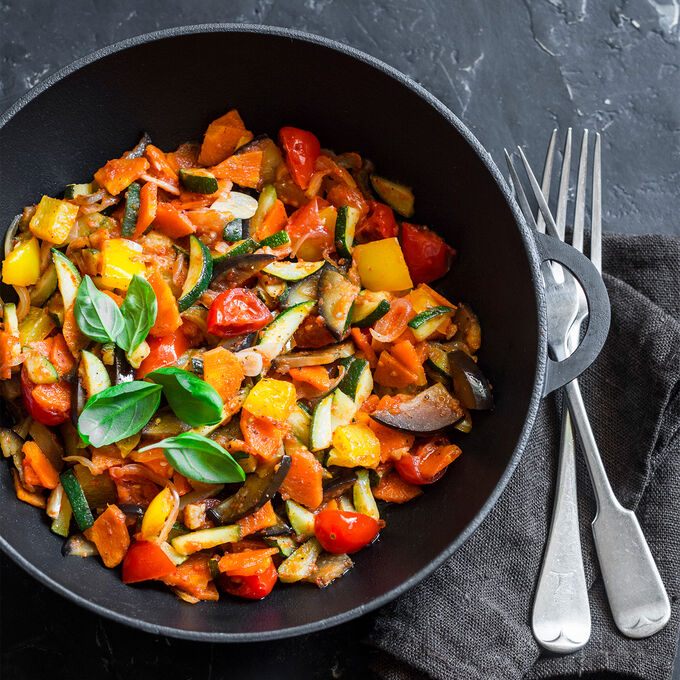Online Sheet-Pan Chicken and Ratatouille (ET)