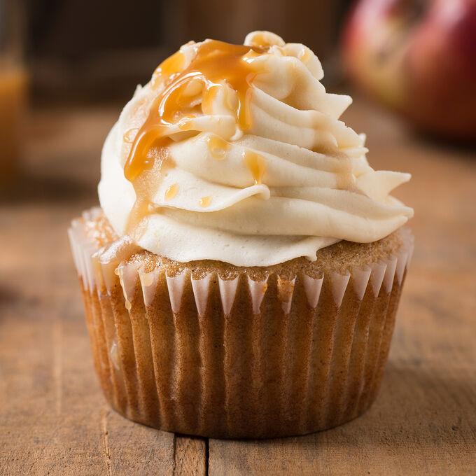 Online Apple Cider Spiced Cupcakes (ET)