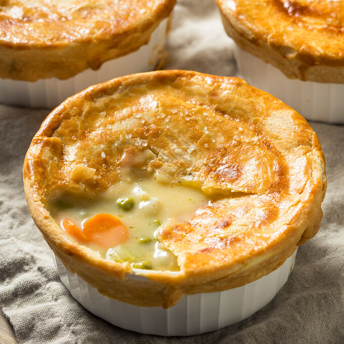 Online Homemade Chicken Pot Pies (ET)