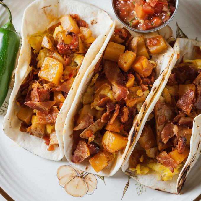 Online Homemade Taco Feast (ET)