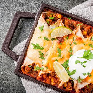 Make & Take: Tex Mex Enchiladas Dinner