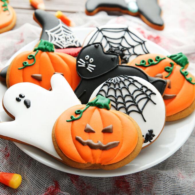 Online Halloween Cookie Decorating (ET)
