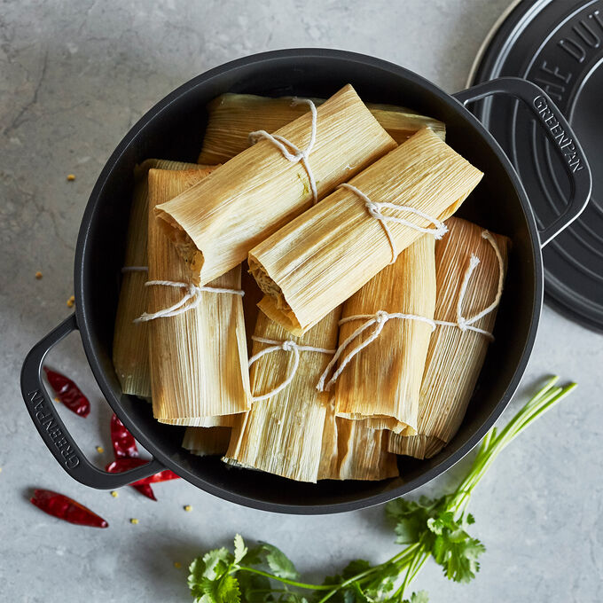 Online Prep Now, Eat Later: Holiday Tamales (ET)