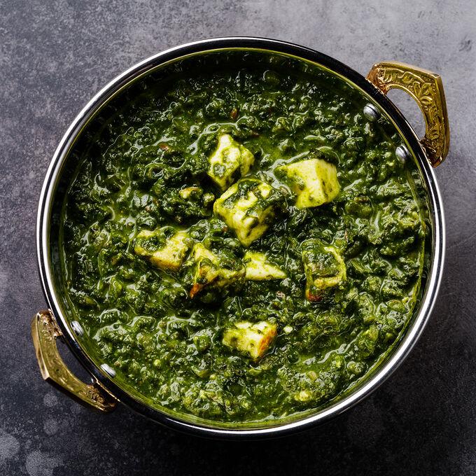 Online Vegetarian Indian Restaurant Favorites (ET)
