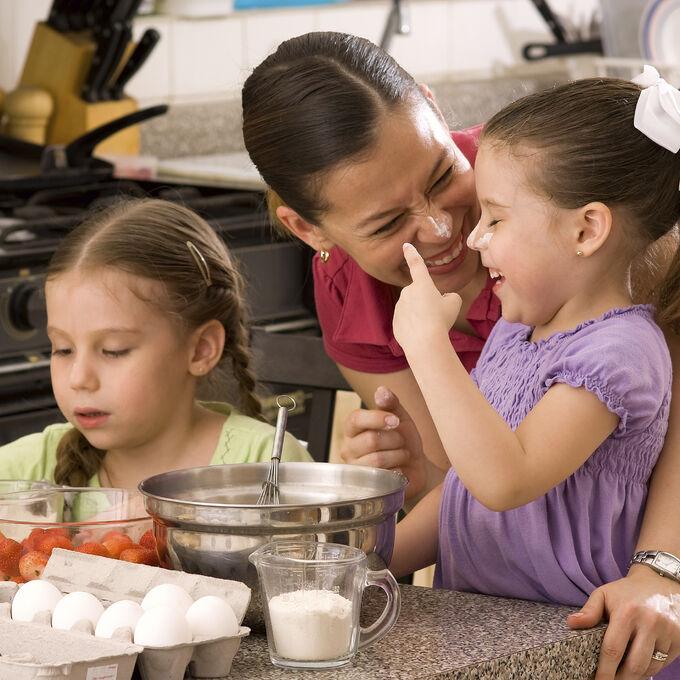 Family Fun: Breakfast for Dinner