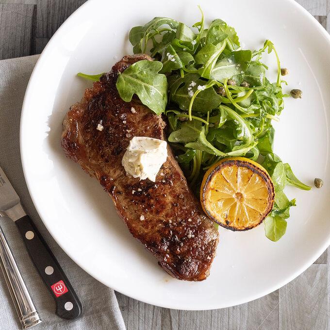 Online Italian Steak Dinner + Chocolate Panna Cotta (ET)