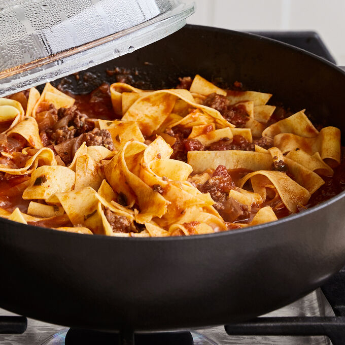 Make & Take: Fresh Pappardelle with Bolognese