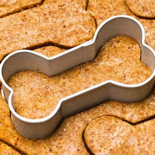 Pumpkin Peanut Butter Dog Biscuits