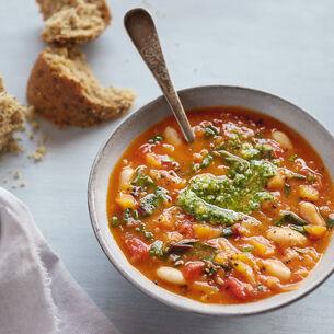Tuscan Bean and Pumpkin Soup