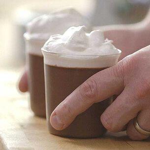 Easy Chocolate-Espresso Pots de Creme