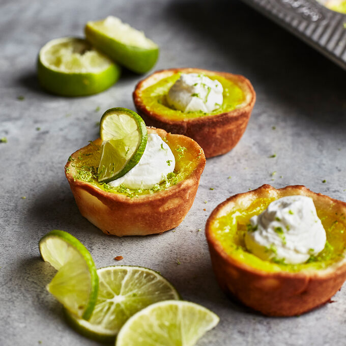 Muffin-Pan Lime Tarts