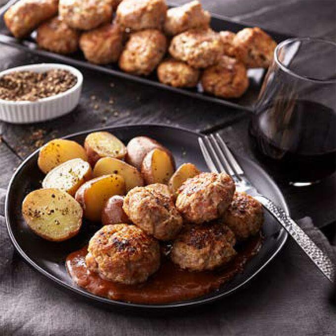 Frikadeller (Danish Pork Meatballs)
