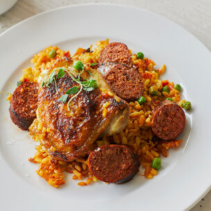 Classic Chicken and Chorizo Paella