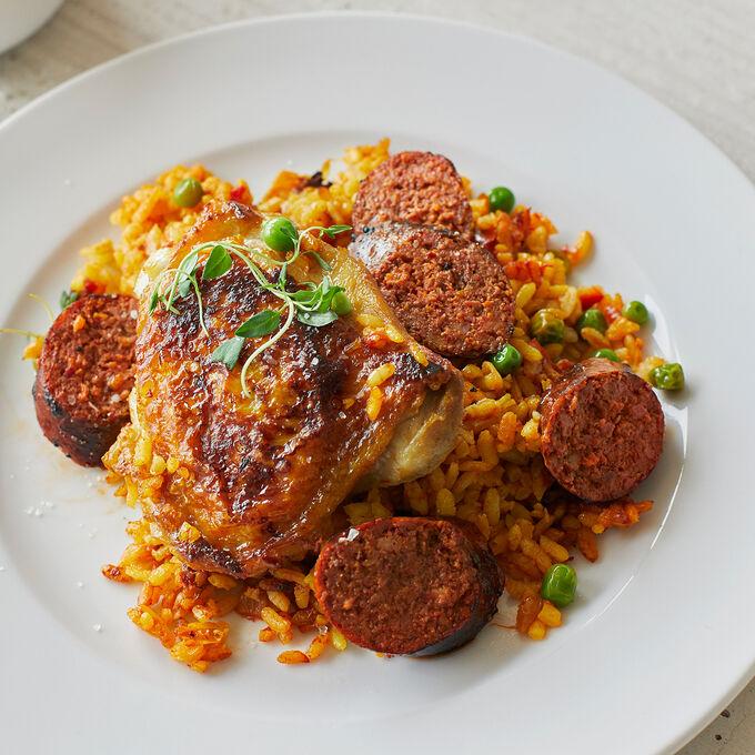 Classic Chicken and Chorizo Paella
