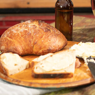Flat Beer Bread Recipe | Sur La Table