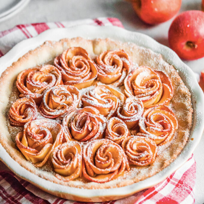 Apple Rose Tart