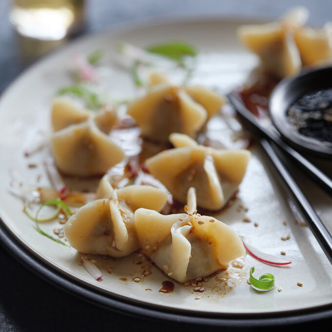 Chinese Cabbage Pork Dumplings