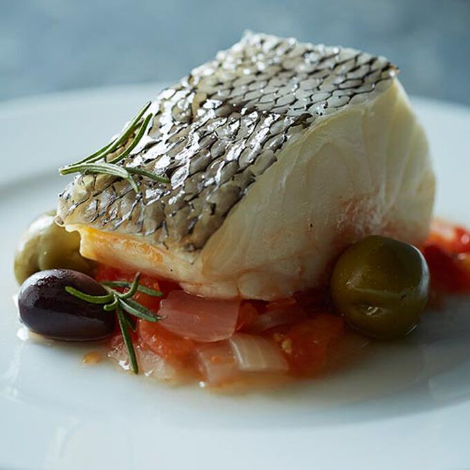 Provencal Striped Bass