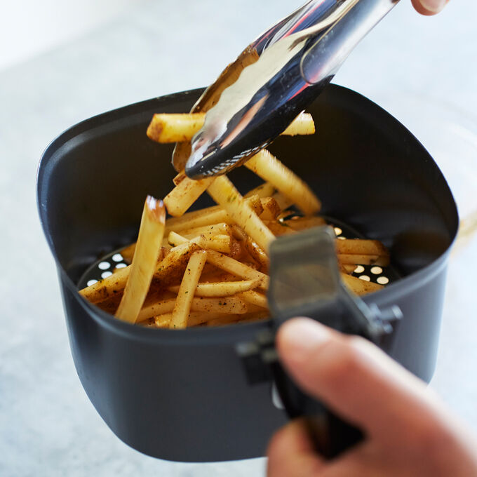 Traditional French Fries with a Kick