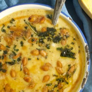Squash Guts Soup