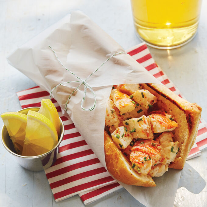 Old Fashioned Maine Lobster Roll