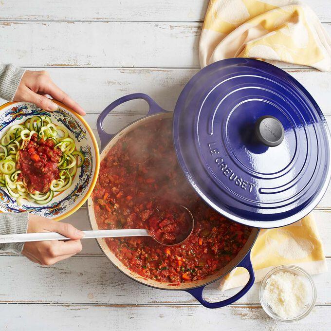 Zucchini Noodles with Zesty Ragu Sauce