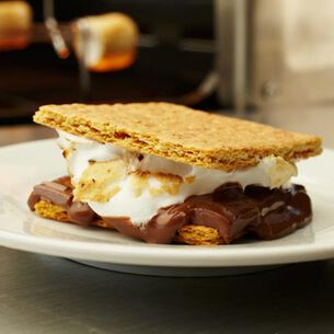 Inside-Out S'mores