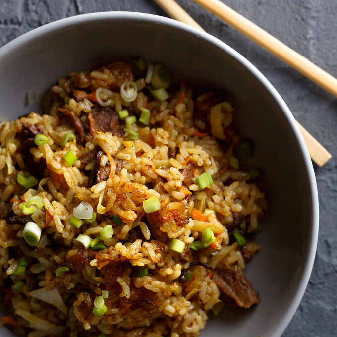 Scallion Fried Rice