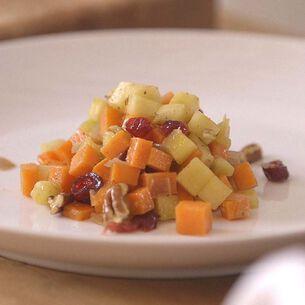 Apple and Sweet Potato Saute