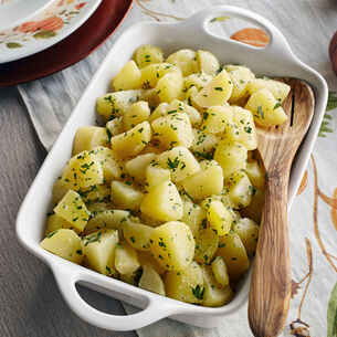 Buttered Potatoes with Parsley