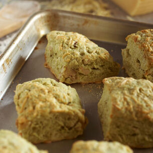Dubliner, Sage & Walnut Cheese Crusted Biscuits Recipe | Sur La Table