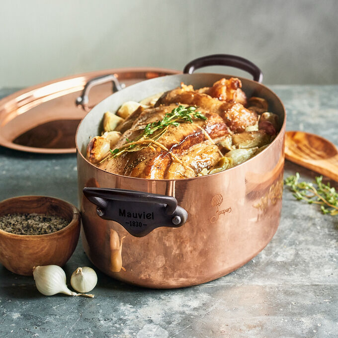 Braised Veal Breast with Pearl Onions and Artichokes